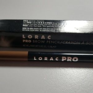 Lorac brow pencil in light brown